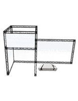 "Portable Truss Exhibit, 230.95"" Overall Width"