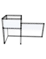 "Trade Show Truss Exhibit, 141.75"" Overall Height"