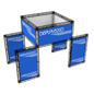 "Trade Show Booth Truss Kit, 106.10"" Overall Depth"