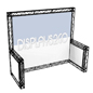 10 x 10 Trade Show Truss Display, Quick Assembly