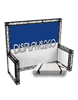 10 x 10 Trade Show Truss Kit with Case