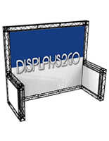 10 x 10 Truss Trade Show Display with Double Sided Graphics