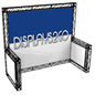 10 x 10 Truss Trade Show Display with Knockdown Design