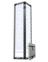 Portable Truss Exhibit Tower, 17' Tall