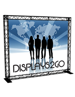 10' Truss Trade Show Booth, Aluminum