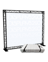 "10' Trade Show Truss Display, 113"" Overall Width"