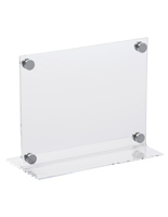 "11"" x 8.5"" Transparent Display for Sales"