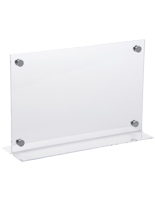 "17"" x 11"" Acrylic Table Sign for Sales"