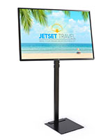 Digital sign package with vivid 4K UHD resolution