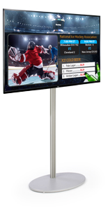 Tilting TV Digital Signage