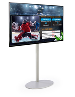 "55"" HDTV Electronic Digital Signage Package"