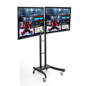 Dual Electronic Poster Stand with (2) LG TV's