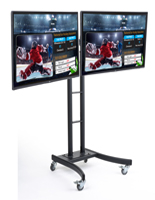 "(2) 55"" TVs for Rolling Digital Menu Board"