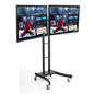 "(2) 55"" LG TVs on Rolling Digital Menu Board"