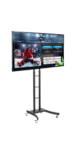 Height Adjustable All-In-One Digital Signage Set