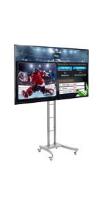 "55"" LGTV with HDMI Port Mobile Digital Signage Display"