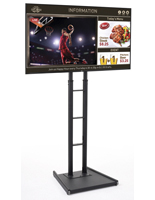 "65"" Digital Sign Set, Weighted Base"