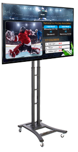 Portable Black Digital Signage Equipment