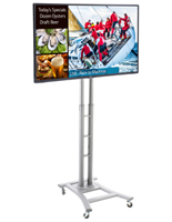 Digital Sign Stand with Customizable Templates
