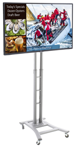 Digital Sign Stand for Lobbies