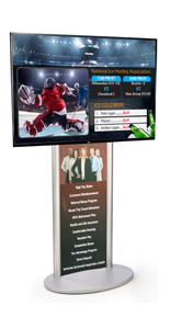 "55"" HDTV Digital Lobby Sign"