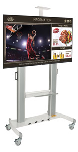 Digital Signage Station for Trade Shows