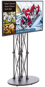 Digital Signage with Stand, Customizable Templates