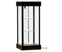 Revolving Display Cabinet with LED Lights