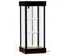 Spinning Glass Display Case