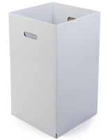 Cardboard Trash Can - Set of 6