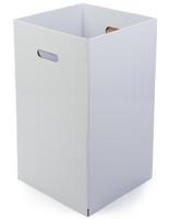 Cardboard Trash Can - Set of 6