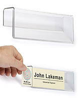 Cubicle Name Plate Hangers