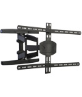 Curved TV Wall Mount, Supports Flat Panels