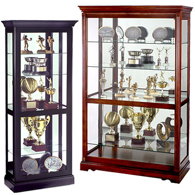 Traditional heirloom curio furniture