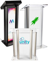 custom podiums and lecterns