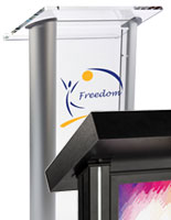 custom printed lecterns