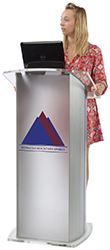 custom printed podiums