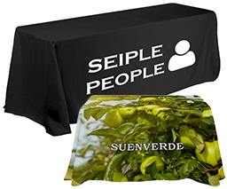 Custom Printed Traditional Table Covers