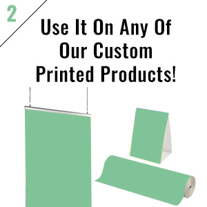 Custom printed products from Displays2go