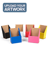 Six color option custom cardboard pamphlet holders