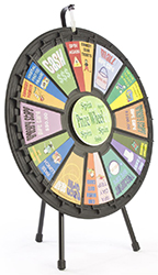 Prize wheels and trade show games