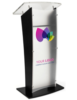 Printed Public Speaking Stand for Conference Halls