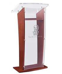 Lectern with Custom Logo