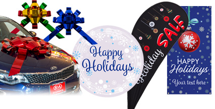 Seasonal Holiday Marketing Displays