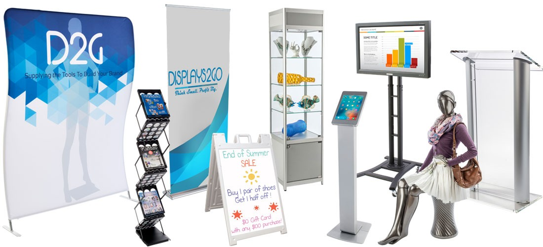display products for every need
