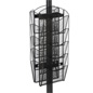 Double-Sided Mesh Literature Rack - Black Finish