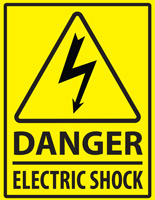 Danger Electric Shock