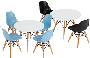 Childrens Daycare Table and Chair Sets