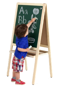 chalkboard easels for daycare centers