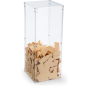 Acrylic Donation Box is Transparent to See Funds or Raffle Tickets Inside